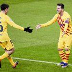 Un estelar Messi disipa dudas y pone tercero al Barcelona en la tabla
