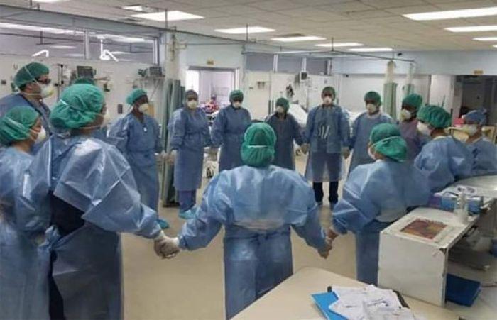 Una decena de médicos hospitalizados por Covid-19 en el norte del país