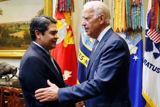 Presidente Hernández felicita a Joe Biden y reitera su compromiso de luchar por la región
