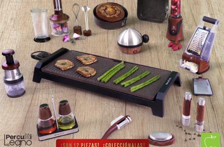 Supermercados La Colonia mantiene promoción de utensilios para cocina Percutti Legno