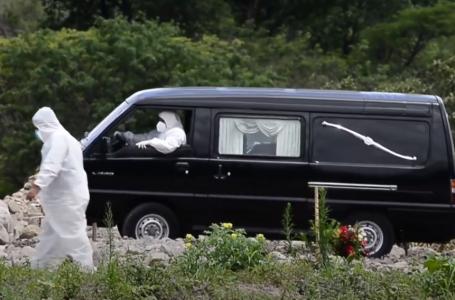Funerarias contabilizaron 1,540 decesos por Covid-19 sólo en el mes de mayo