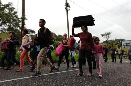 En las próximas horas estarían saliendo dos nuevas caravanas de migrantes hacia EEUU