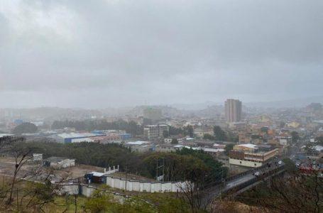 Frente frío esta generando incremento de la nubosidad y lluvias