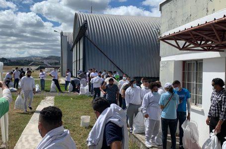 Primer vuelo del año con hondureños deportados desde EE.UU. arribó a Tegucigalpa