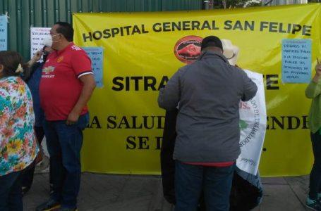 Sindicatos de trabajadores exigen entren en funcionamiento los hospitales móviles