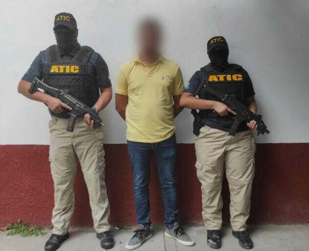ATIC capturó a tercer expolicía acusado de tres delitos en el occidente del país