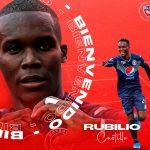 Rubilio Castillo sorprende al dejar Motagua y fichar por el futbol de Bolivia
