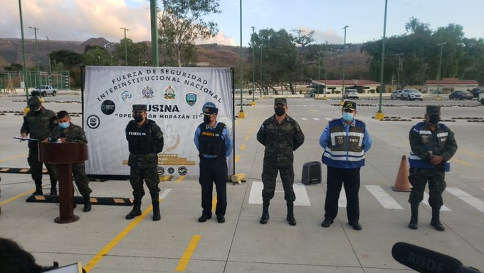 Fusina celebra aniversario con lanzamiento de la Operación Morazán