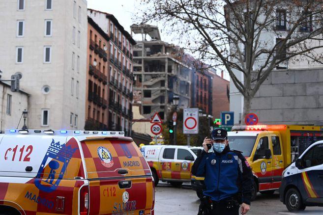 Al menos dos fallecidos tras una explosión en un edificio del centro de Madrid