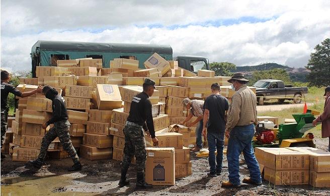 Contrabando y evasión, lucha clave para mejorar la recaudación en Honduras