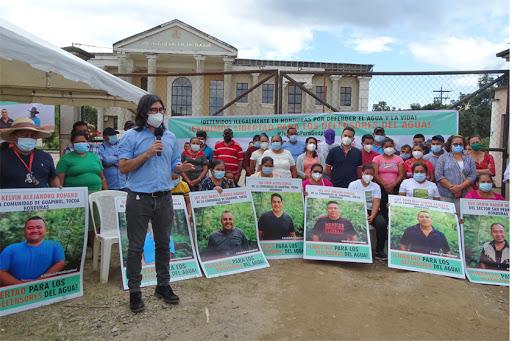 Tras 17 meses de prisión, siguen pidiendo libertad para los defensores de Guapinol