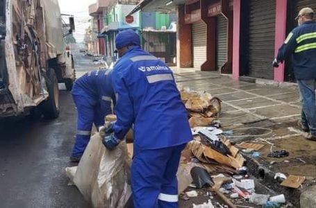 Fin de año deja unas 70 toneladas de basura en los mercados de Comayagüela