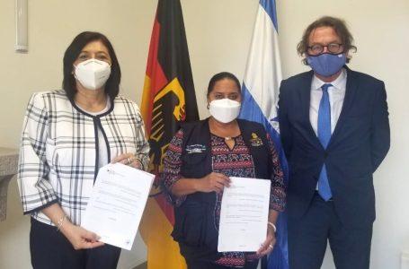 Alemania dona 100 mil euros para la lucha contra Covid