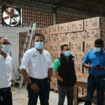 Abastecimiento de productos es supervisado en bodega de almacenamiento de Banasupro