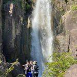 """Imponentes cataratas, """"belleza escondida"""" de Los Nanzales, Sabanagrande"""