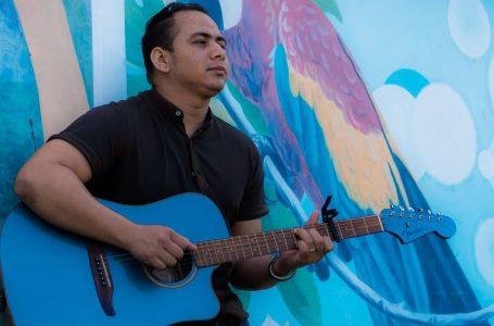 Samuel Calderón, joven promesa de la música hondureña