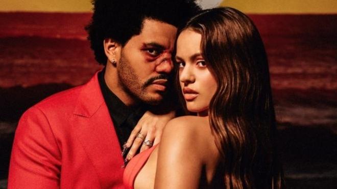 Descartan que Rosalía acompañe a The Weeknd en el medio tiempo del Super Bowl