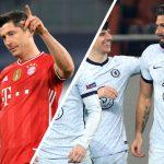 Bayern destroza a la Lazio y el Chelsea triunfa ante el Atlético en la Champions