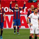 Messi y Dembélé mantienen las esperanzas del Barcelona en LaLiga