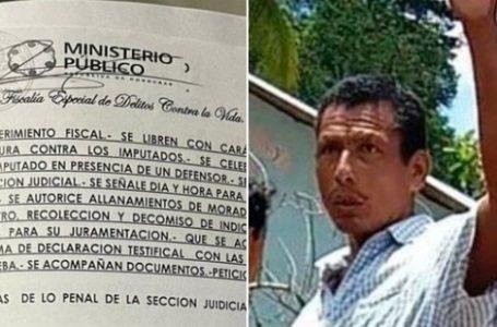 En allanamientos simultáneos buscan a sospechosos de asesinar a dirigente tolupán