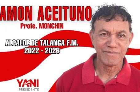 «Vamos a darle un cambio a Talanga», Ramón Aceituno