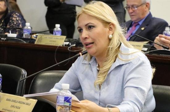 Deniegan amparo contra el formal procesamiento a diputada Sara Medina