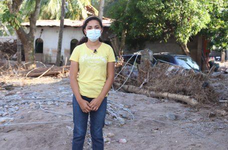 Futuro incierto de niñas hondureñas luego de 3 meses de Eta e Iota