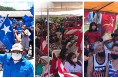 CNE prohíbe a grupos vulnerables al Covid-19 participar en concentraciones políticas