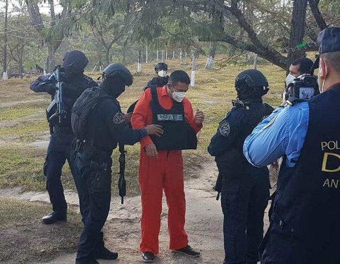 Extraditado el hondureño José del Tránsito García Teruel, el primero del año