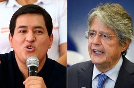 Arauz y Lasso se enfrentarían en segunda vuelta en las presidenciales en Ecuador