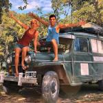 Andy y Cinthia, pareja de argentinos encantada con Honduras y las baleadas