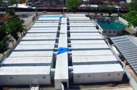 Hospital móvil de la capital opera con siete pacientes y 150 empleados