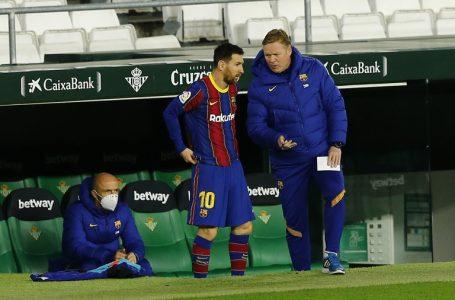 «Tengo muchísimas esperanzas de que Messi se quede en el Barça»: Koeman