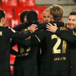 El Barcelona de Messi venció 5-3 al Granada y avanzó a la semifinal de la Copa del Rey