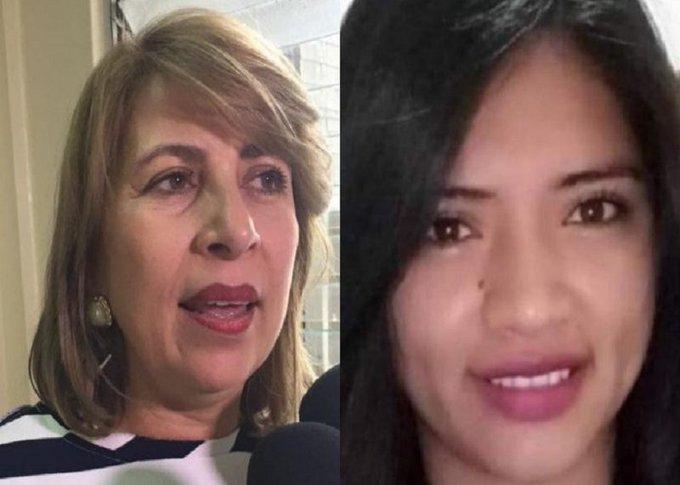 Irma López, apoderada legal de la familia de Keyla Martínez anunció que se retira del caso
