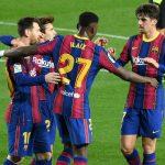 Barcelona goleó al Alavés con dos de Messi y sigue peleando por LaLiga