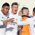 Real Madrid vence al Valencia y recupera el segundo lugar de LaLiga