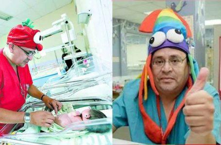 Fallece por COVID-19 el pediatra Gustavo Bustillo, el «Patch Adams» hondureño
