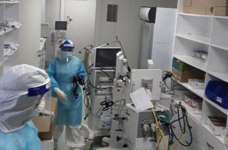 Hospital móvil de SPS funciona a medias y con equipos e insumos en desuso