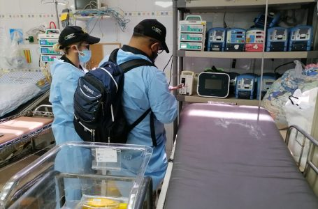 ATIC inspecciona ventiladores mecánicos adquiridos por Copeco en el HE