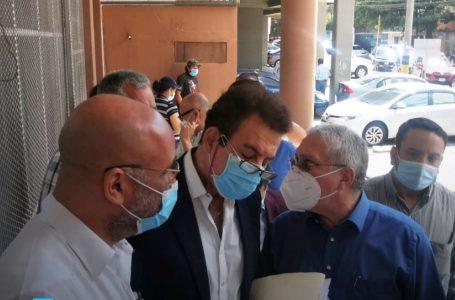Nasralla exige al MP un pronto despacho de las denuncias interpuestas
