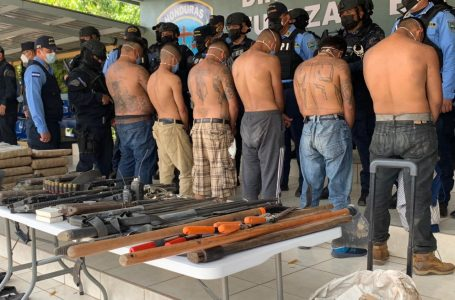 Desarticulan «la escuelita», centro de entrenamiento de sicarios de la MS-13