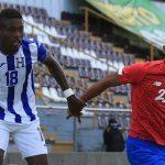 Sub-23 de Honduras y Costa Rica empatan 1-1 en segundo fogueo