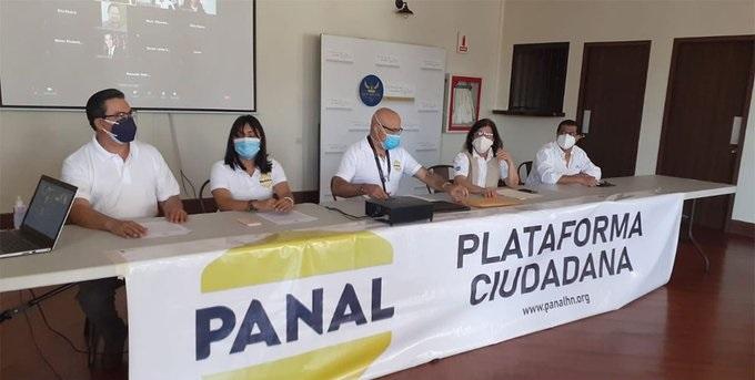 Plataforma PANAL también exige la salida del presidente Hernández