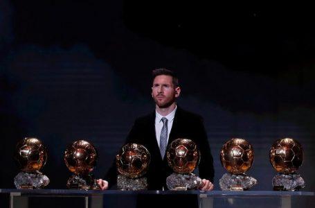 Lionel Messi fue elegido como el mejor jugador de la década