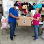 ROCAFAM se beneficia con alimentos para pacientes y sus familias por parte de LOTO