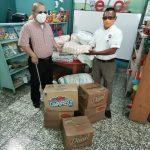 Sector discapacidad en Santa Bárbara recibe donativo de alimentos por parte de LOTO