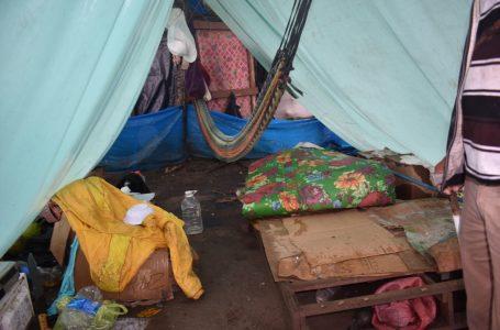 """Damnificados del Valle de Sula cumplen 3 meses en calamidad; ruegan por una """"solución"""""""