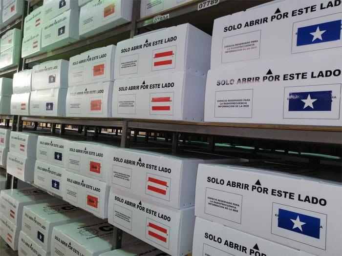 Maletas electorales se comenzarán a distribuir a partir del 6 de marzo en todo el país