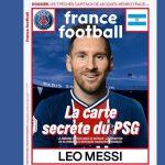 France Football ya viste a Messi del PSG